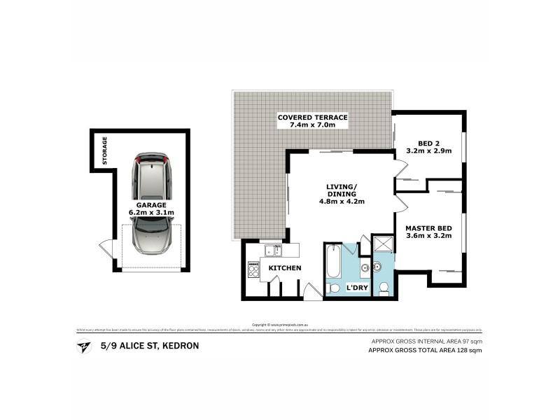 5/9 Alice Street, Kedron QLD 4031 Floorplan