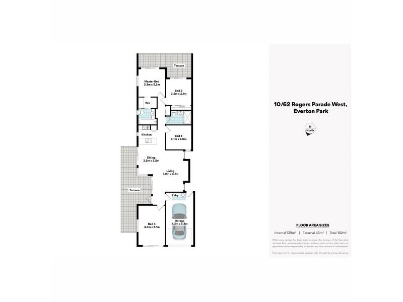 10/62 Rogers Parade West, Everton Park QLD 4053 Floorplan