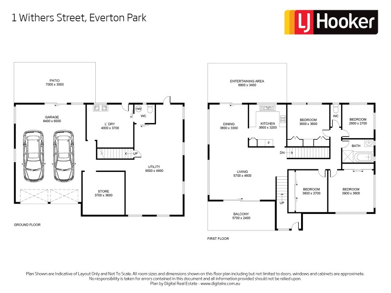 1 Withers Street, Everton Park QLD 4053 Floorplan