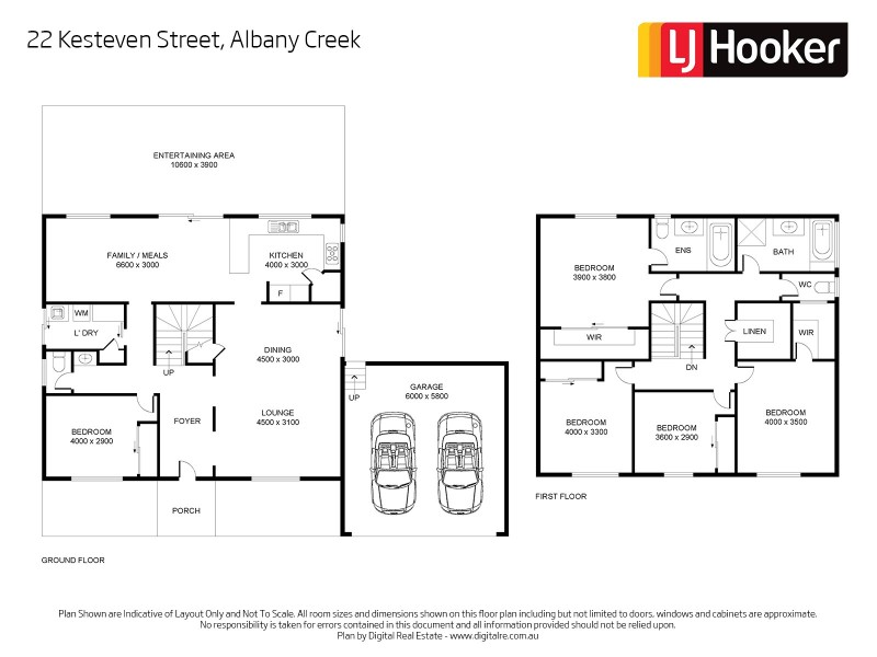 22 Kesteven Street, Albany Creek QLD 4035 Floorplan