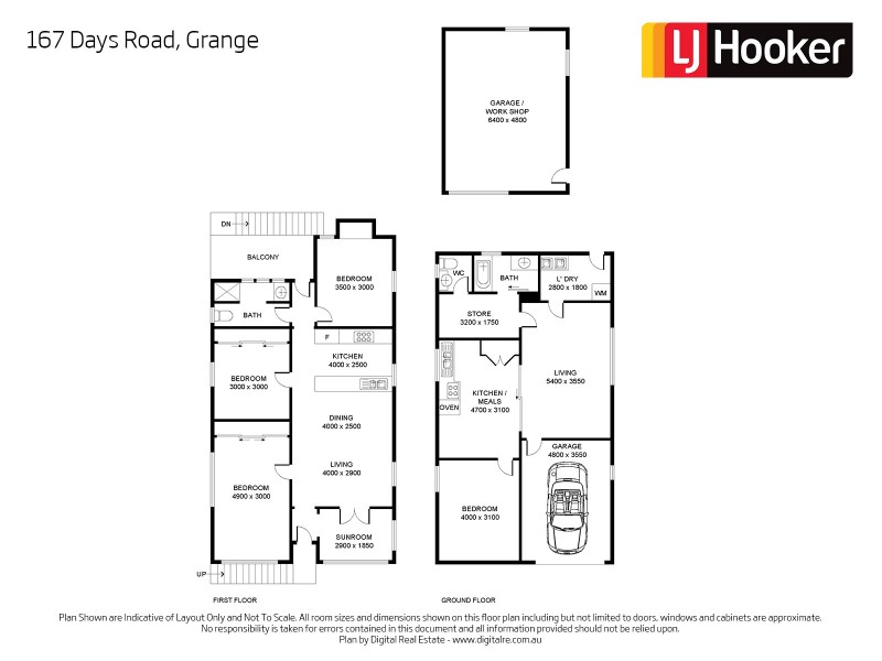167 Days Road, Grange QLD 4051 Floorplan