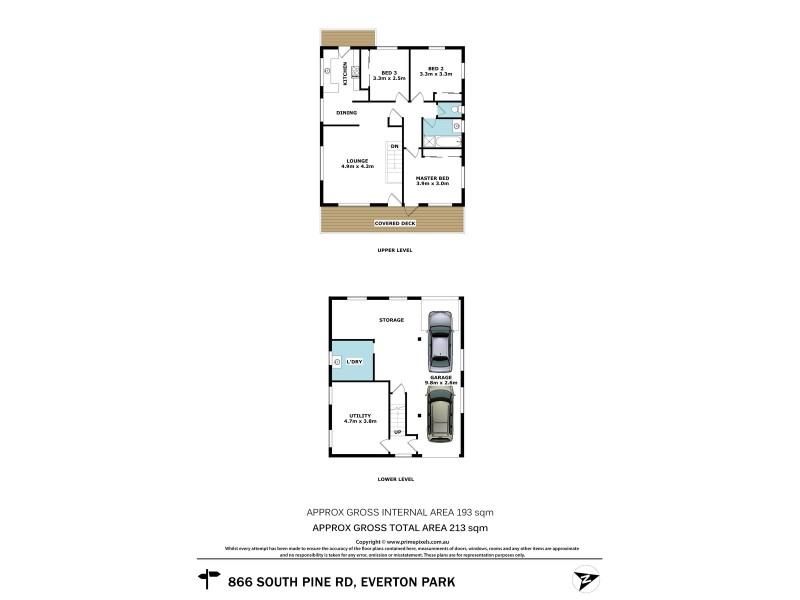 866 South Pine Road, Everton Park QLD 4053 Floorplan