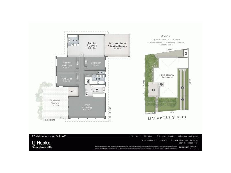 57 Malmrose Street, Wishart QLD 4122 Floorplan