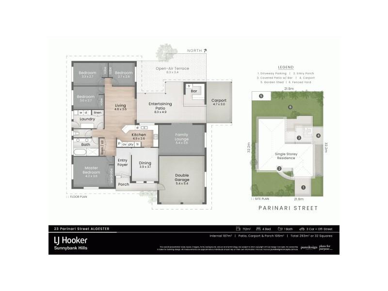 23 Parinari Street, Algester QLD 4115 Floorplan