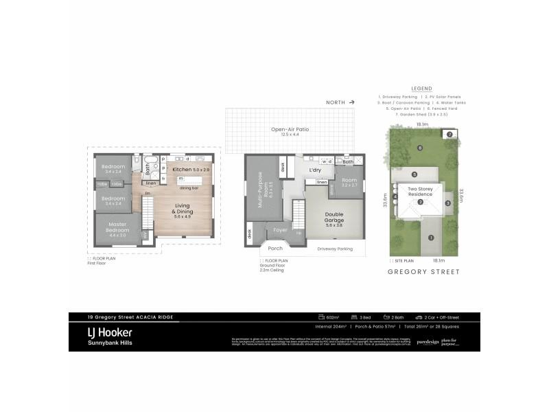 19 Gregory Street, Acacia Ridge QLD 4110 Floorplan