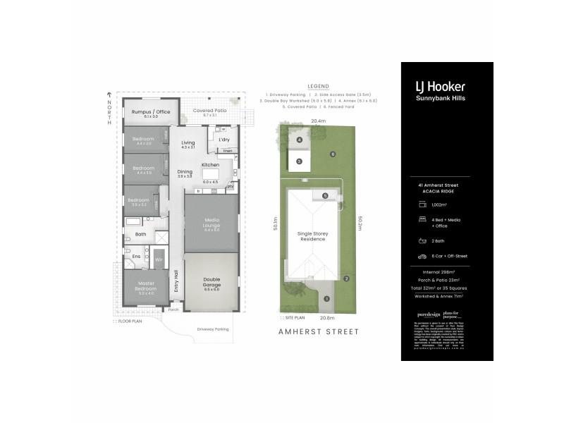 41 Amherst Street, Acacia Ridge QLD 4110 Floorplan