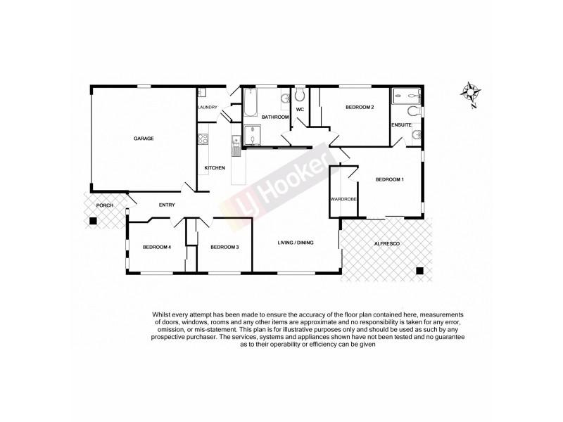 22 Winifred Street, Algester QLD 4115 Floorplan
