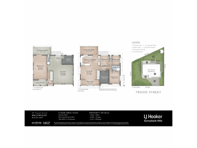 29 Trood Street, Macgregor QLD 4109 Floorplan