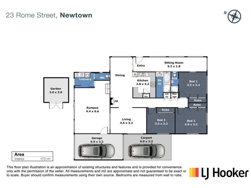 23 Rome Street, Newtown QLD 4350 Floorplan