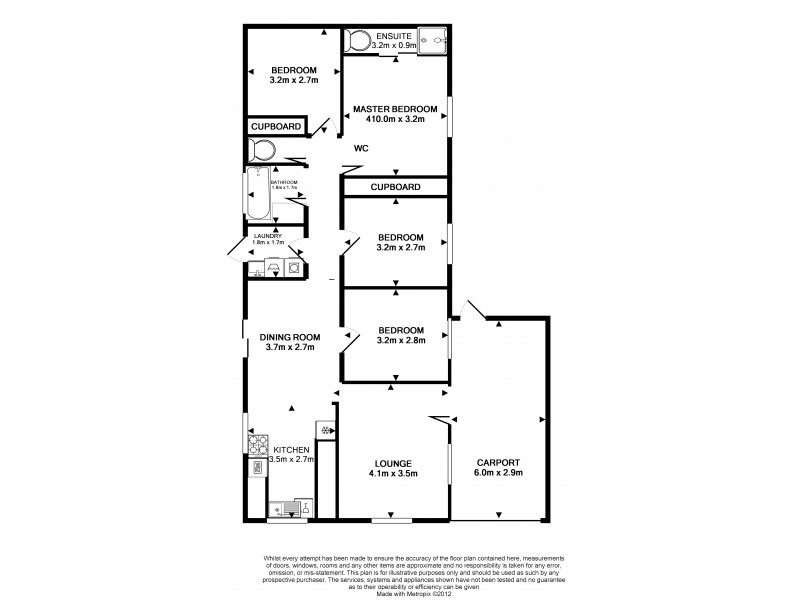 57 Feeney Ave, Rasmussen QLD 4815 Floorplan