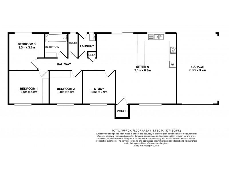 25 Leila Avenue, Rasmussen QLD 4815 Floorplan