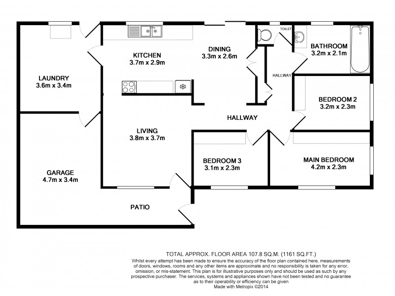 24 Marsh Street, Heatley QLD 4814 Floorplan