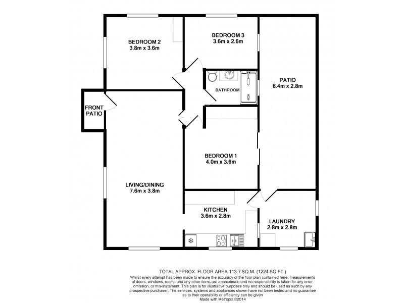 54 Charlotte Street, Aitkenvale QLD 4814 Floorplan