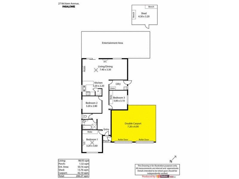 27 McVann Avenue, Paralowie SA 5108 Floorplan