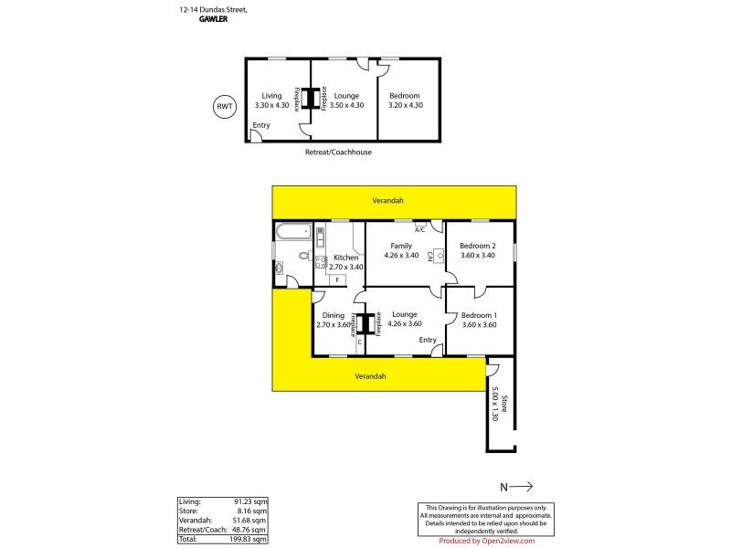 12-14 Dundas Street, Gawler SA 5118 Floorplan