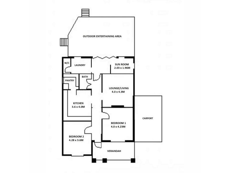 25 Rogers Street, Freeling SA 5372 Floorplan