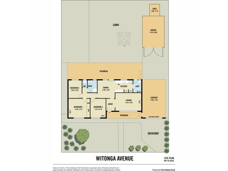 50 Witonga Avenue, Salisbury North SA 5108 Floorplan