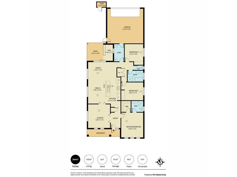 158 Newton Boulevard, Munno Para SA 5115 Floorplan