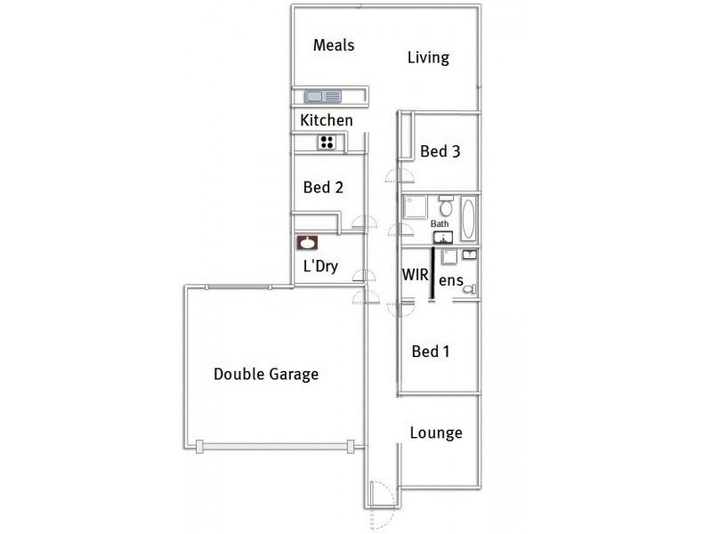 19 Sauvignon Street, Andrews Farm SA 5114 Floorplan