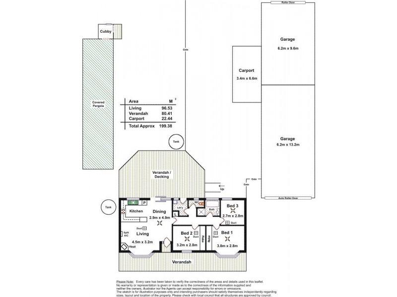 76 Bethesda Road, Lewiston SA 5501 Floorplan