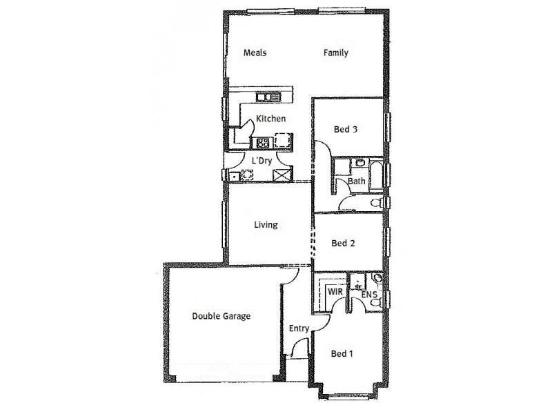 13 Lonsdale Crescent, Andrews Farm SA 5114 Floorplan