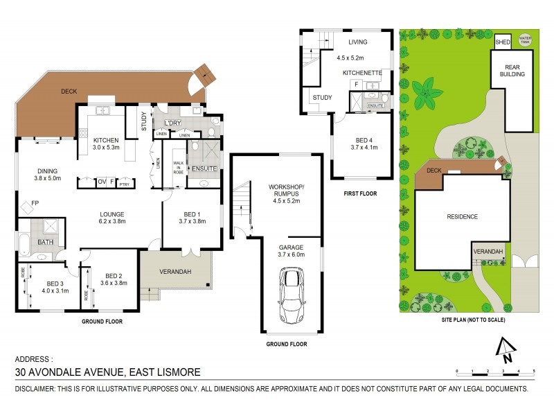 30 Avondale Avenue, East Lismore NSW 2480 Floorplan