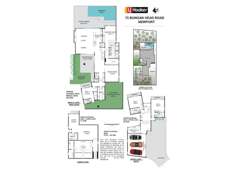 75 Bungan Head Road, Newport NSW 2106 Floorplan