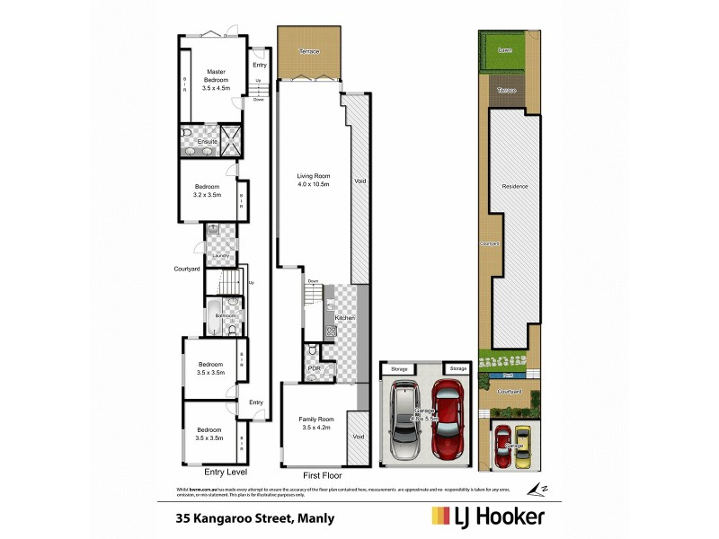 35 Kangaroo Street, Manly NSW 2095 Floorplan