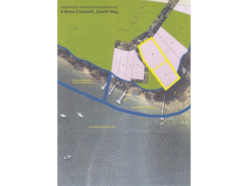 6 Bona Crescent, Lovett Bay NSW 2105 Floorplan