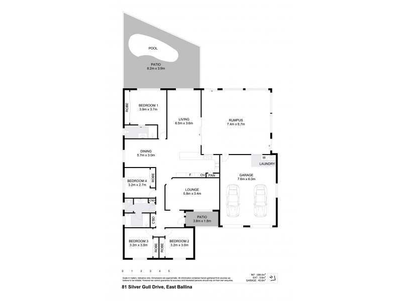 81 Silver Gull Drive, East Ballina NSW 2478 Floorplan