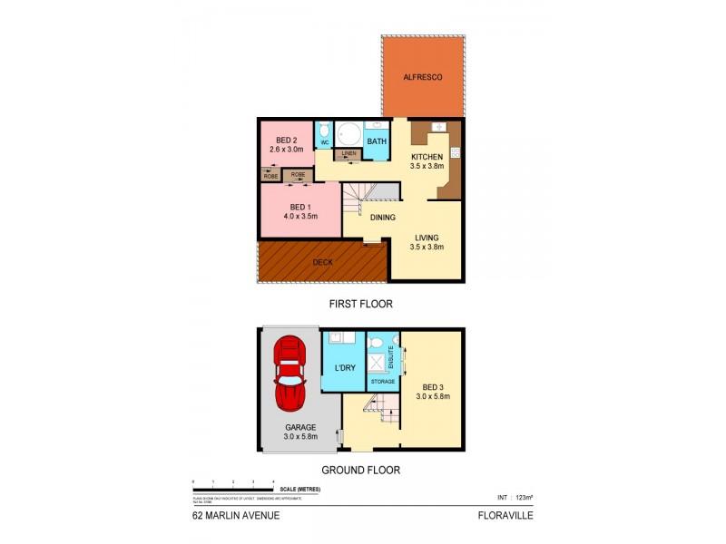 62 Marlin Avenue, Floraville NSW 2280 Floorplan