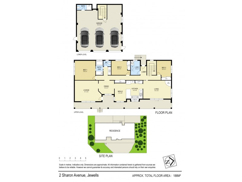 2 Sharon Avenue, Jewells NSW 2280 Floorplan