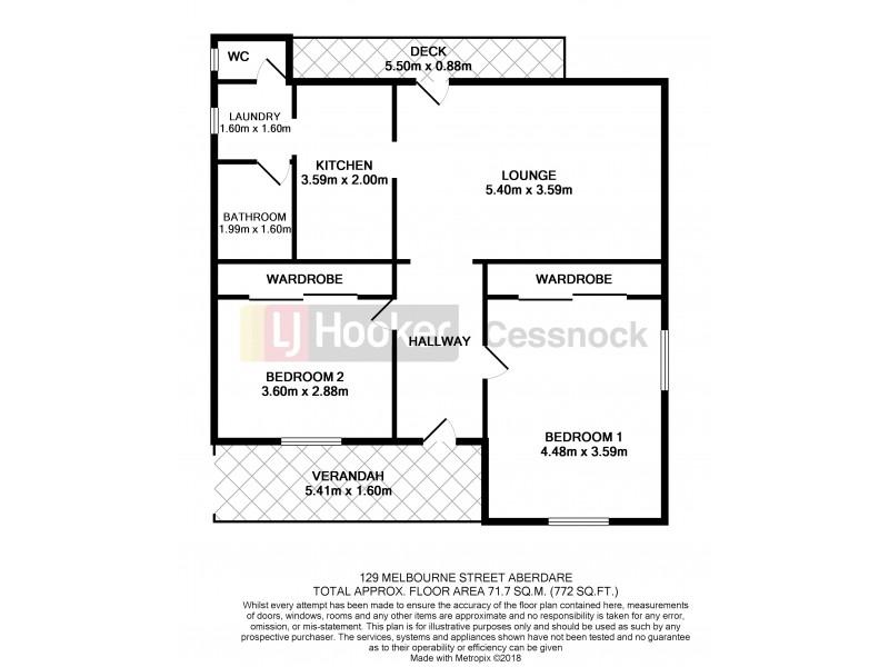 129 Melbourne Street, Aberdare NSW 2325 Floorplan