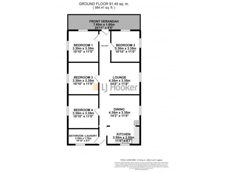 144 Aberdare Road, Aberdare NSW 2325 Floorplan