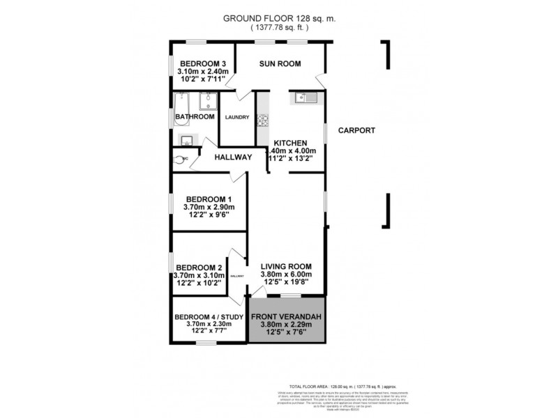 125 Aberdare Road, Aberdare NSW 2325 Floorplan