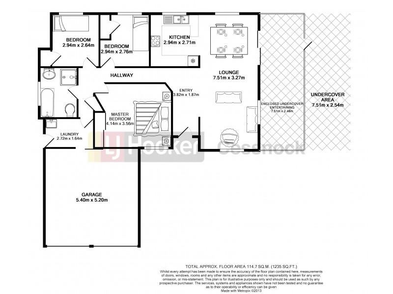 47 Doyle Street, Bellbird NSW 2325 Floorplan