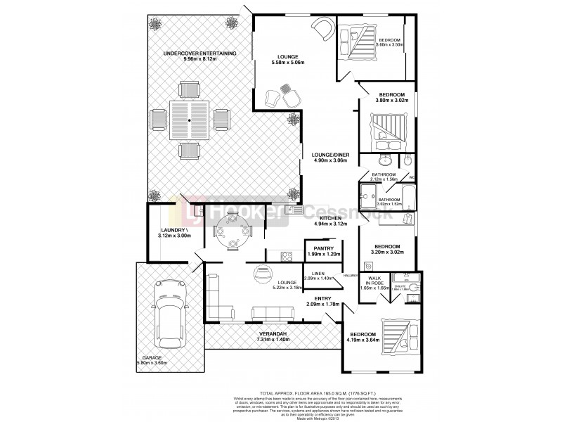 14 Northcote Street, Aberdare NSW 2325 Floorplan
