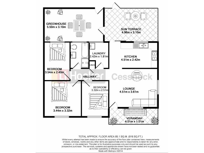 48 Lismore Street, Abermain NSW 2326 Floorplan