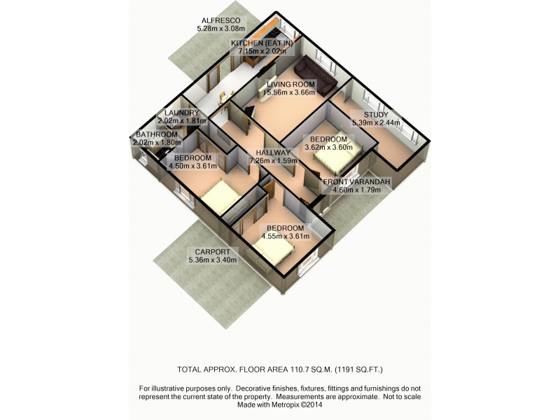 27 Sparke Street, Bellbird NSW 2325 Floorplan