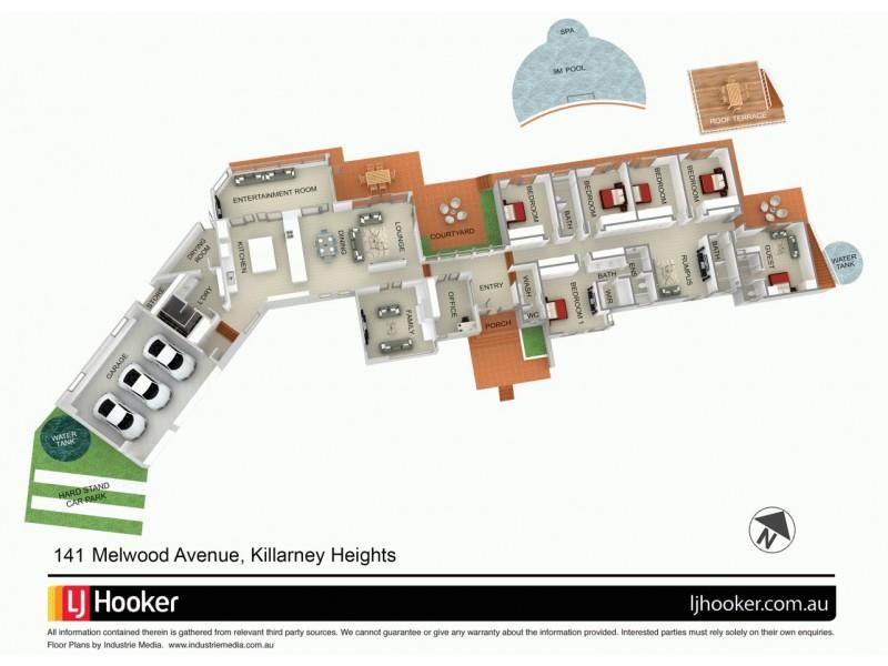 141 Melwood Avenue, Killarney Heights NSW 2087 Floorplan