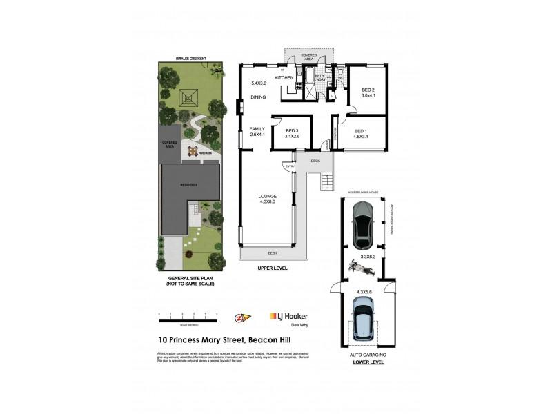 10 Princess Mary Street, Beacon Hill NSW 2100 Floorplan