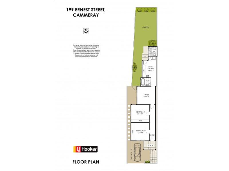 199 Ernest Street, Cammeray NSW 2062 Floorplan