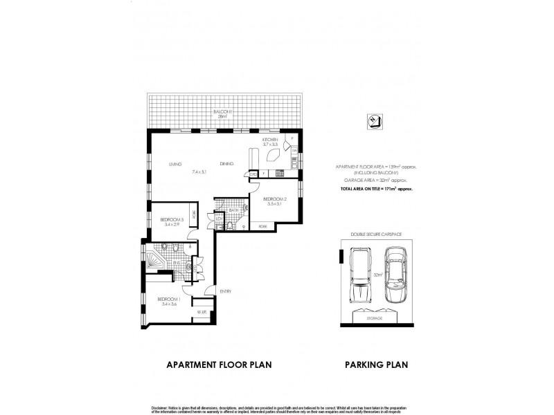 67/7-17 Sinclair Street, Wollstonecraft NSW 2065 Floorplan