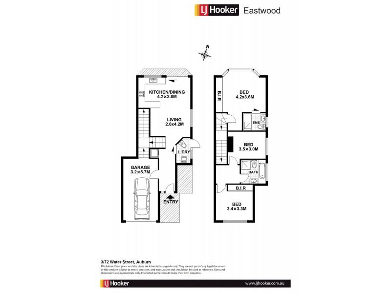3/72 Water Street, Auburn NSW 2144 Floorplan