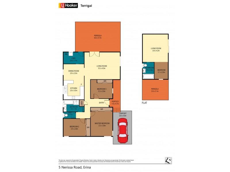 5 Nerissa Road, Erina NSW 2250 Floorplan