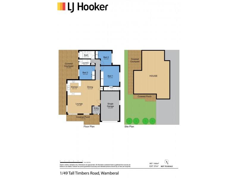 1/49 Tall Timbers Road, Wamberal NSW 2260 Floorplan