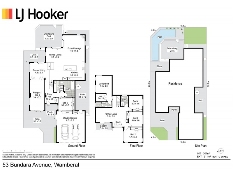 53 Bundara Avenue, Wamberal NSW 2260 Floorplan