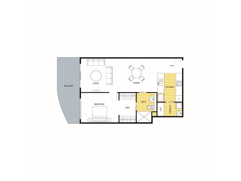 199/1 Anthony Rolfe Avenue, Gungahlin ACT 2912 Floorplan