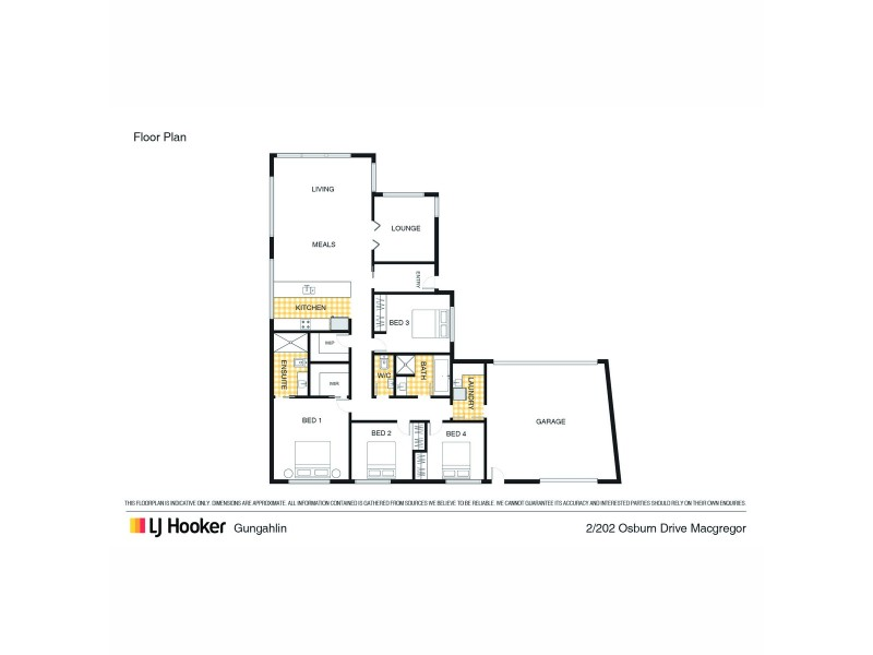 2 Luther Place, Macgregor ACT 2615 Floorplan