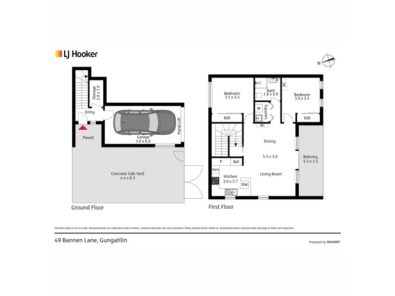 49 Bannen Lane, Gungahlin ACT 2912 Floorplan